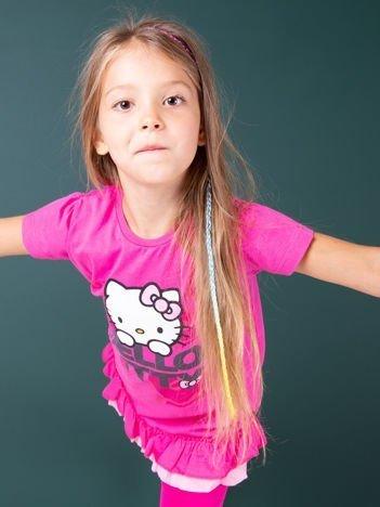 Fuksjowa tunika dla dziewczynki HELLO KITTY