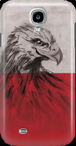 Funny Case ETUI SAMSUNG S4 EAGLE