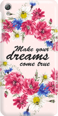 Funny Case ETUI SONY XPERIA E5 DREAMS FLOWERS