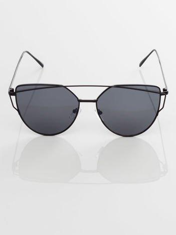 GLAM ROCK okulary przeciwsłoneczne lustrzanki CAT EYE HIT !