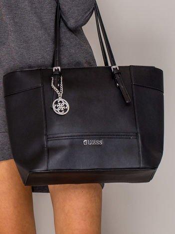 GUESS Czarna torba shopper bag
