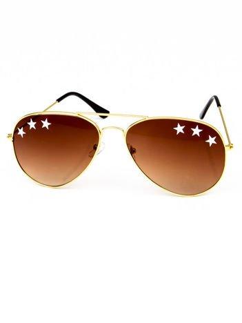 GWIAZDY Okulary przeciwsłoneczne PILOTKI/AVIATOR