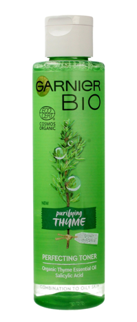 """Garnier BIO Tonik do twarzy oczyszczający - Purifying Thume 150ml"""""""