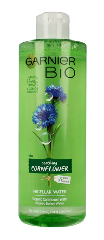 Garnier BIO Woda micelarna do twarzy - Soothing Cornflower 400ml""