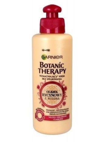 Garnier Botanic Therapy  Krem do włosów osłabionych i łamliwych Olejek Rycynowy i Migdał 200 ml
