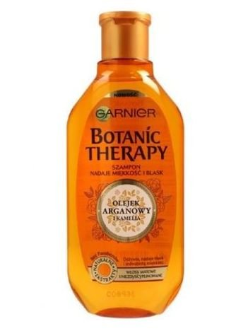 Garnier Botanic Therapy Szampon do włosów matowych i niezdyscyplinowanych Olejek Arganowy i Kamelia  400 ml