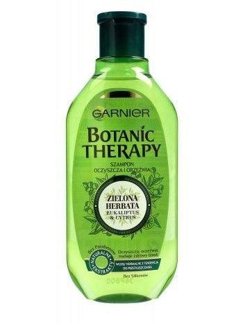 Garnier Botanic Therapy Szampon do włosów normalnych i przetłuszczających Zielona Herbata  250 ml