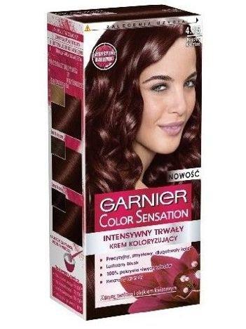 Garnier Color Sensation Krem koloryzujący do włosów 4.15 Mroźny Kasztan