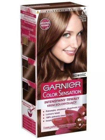 Garnier Color Sensation Krem koloryzujący do włosów 6.0 Szlachetny Ciemny Blond