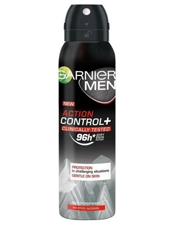 Garnier Mineral Men Antyperspirant w sprayu Action Control+ Clinically 96h 150 ml