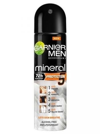 Garnier Mineral Men Protection 5 Antyperspirant w sprayu 150 ml