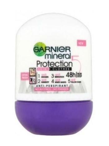 Garnier Mineral Protection 5 Antyperspirant w kulce Cotton Fresh 50 ml