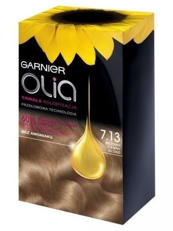 Garnier Olia Farba do włosów nr 7.13 Beżowy Ciemny Blond