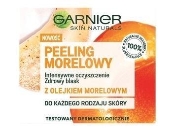 Garnier Skin Naturals  Peeling do twarzy morelowy  50 ml