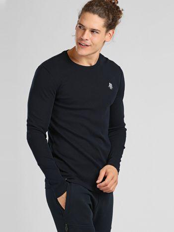 Granatowa bluzka męska TOMMY LIFE