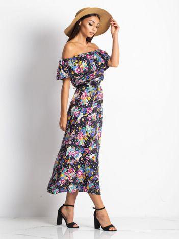 Granatowa sukienka Proven