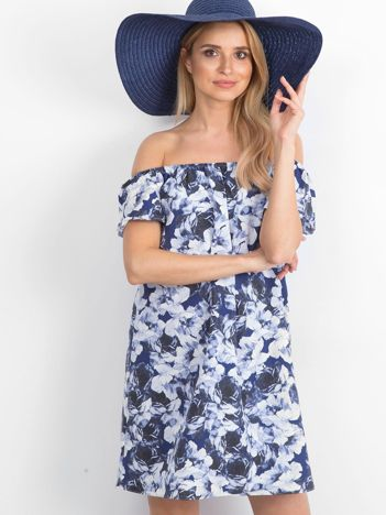 Granatowa sukienka Tropez