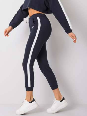 Granatowe spodnie Arianna FOR FITNESS