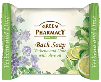 Green Pharmacy Body Care Mydło w kostce Verbena and Lime 100 g
