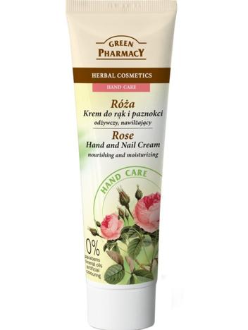 Green Pharmacy Krem do rąk i paznokci Róża odżywczo-nawilżający 100 ml