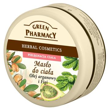 Green Pharmacy Masło do ciała Olej arganowy, Figi 200 ml