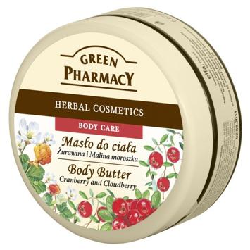 Green Pharmacy Masło do ciała Żurawina i Malina Moroszka 200 ml