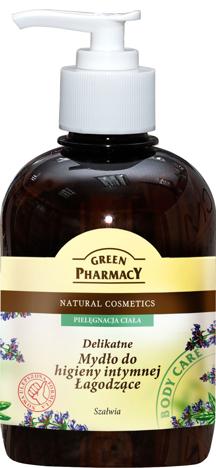Green Pharmacy Mydło do higieny intymnej łagodzące Szałwia 370 ml