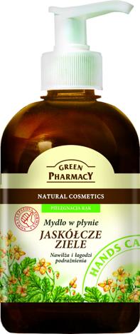 Green Pharmacy Mydło w płynie Jaskółcze ziele 465 ml