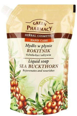 Green Pharmacy Mydło w płynie - zapas Rokitnik 465 ml