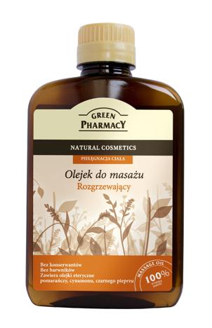 Green Pharmacy Olejek do masażu Rozgrzewający 200 ml
