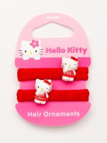 Hello Kitty Komplet 2 gumek do włosów