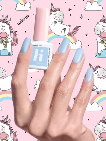 Hi Hybrid Lakier hybrydowy Unicorn nr 317 Blue White 5 ml