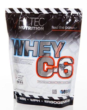 HiTec - Odżywka białkowa C6 - 1000g Vanilla-blaccurant
