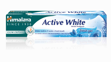 "Himalaya Herbals Pasta-żel do zębów Active White  75ml"""