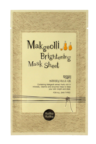 """Holika Holika Makgeolli Brightening Mask Sheet Maska w płacie rozjaśniająca  1szt"""""""