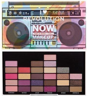I Heart Revolution NOW That's What I Call Makeup 90s Paleta 27 cieni 13,5 g