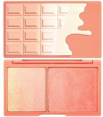 I ♥ Revolution Chocolate Peach & Glow Paletka do konturowania twarzy 11g