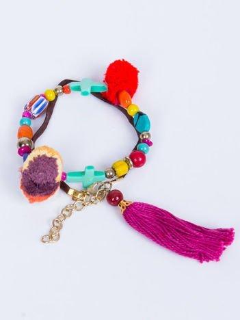 INCA Bransoletka z koralików z ozdobami