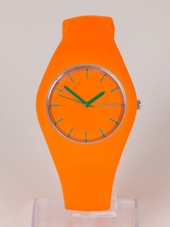 JELLY pomarańczowy zegarek damski HIT!