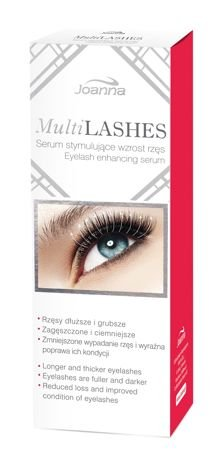 JOANNA MULTILASHES odżywka do rzęs  4ml