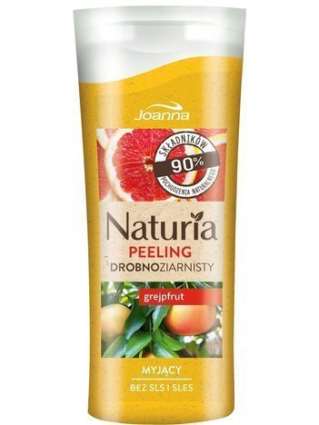 JOANNA NATURIA Peeling Drobnoziarnisty Grejpfrut 100 g