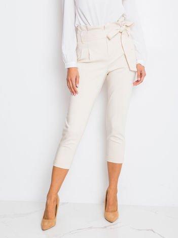 Jasnobeżowe spodnie Lovely