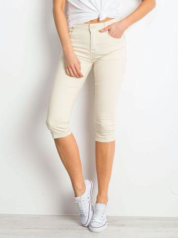 Jasnobeżowe spodnie Within
