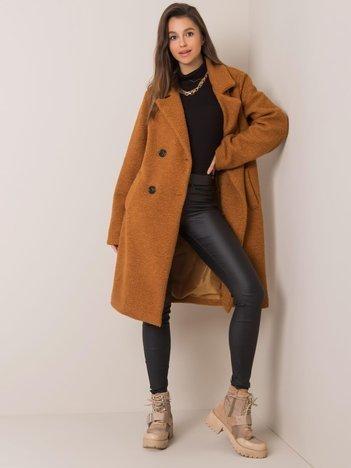 Jasnobrązowy płaszcz Demi