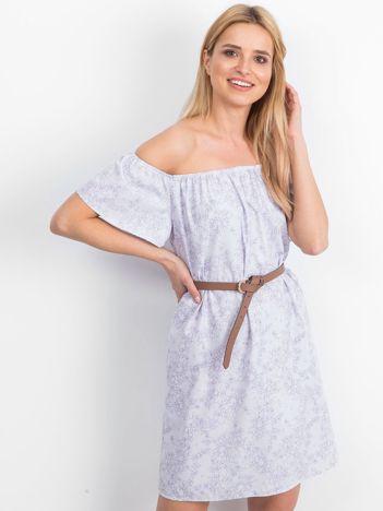 Jasnofioletowa sukienka Suitable