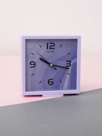 Jasnofioletowy kwadratowy zegarek