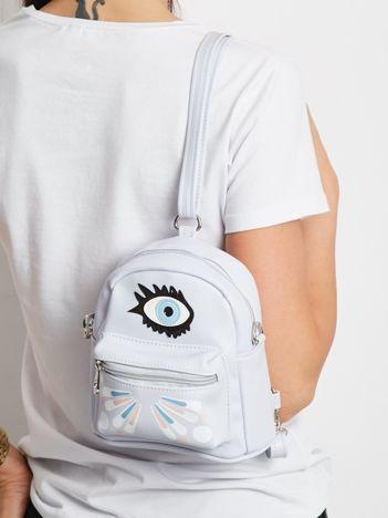 Jasnofioletowy mini plecak
