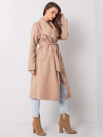 Jasnokawowy płaszcz Zoria