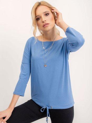 Jasnoniebieska bluzka Fiona