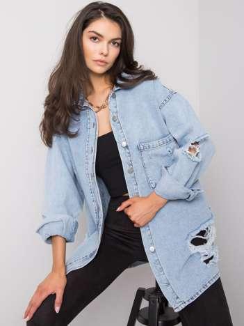Jasnoniebieska koszula jeansowa Dorres RUE PARIS
